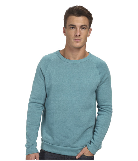 Alternative - Champ Eco Fleece Sweatshirt (Eco True Sea Green) Men's Long Sleeve Pullover