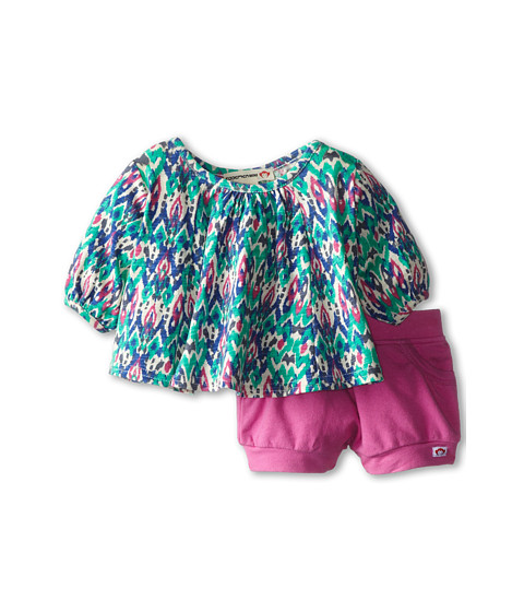 Appaman Kids - Swing Top and Bubble Shorts Set (Infant) (Ikat) Girl