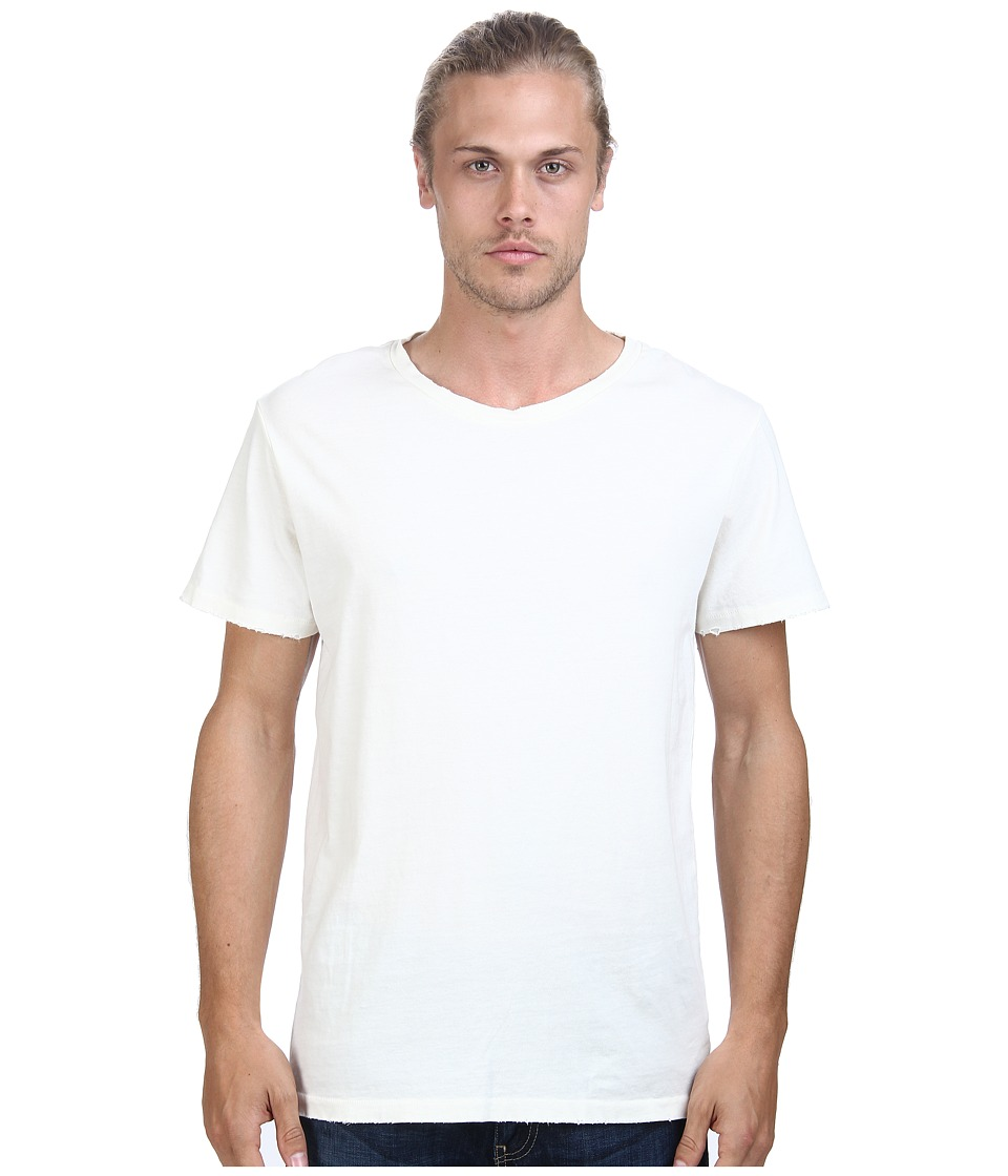 Alternative - Distressed Heritage Tee (Vintage White) Men