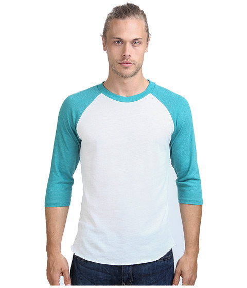 Alternative - Baseball Tee (Eco True Sea Green) Men's T Shirt