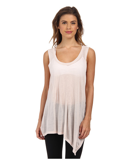 Alternative - Viscose Crepe Balance Tank Top (Shell) Women's Sleeveless