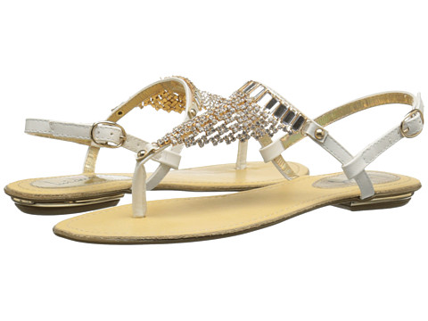 Luichiny - Cheer Ish (White) Women's Sandals