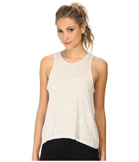 Alternative - Flex It Tank Top (White Stripe) Women's Sleeveless