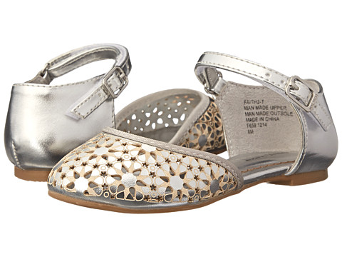 Nine West Kids - Faith (Toddler/Little Kid) (Silver) Girl's Shoes