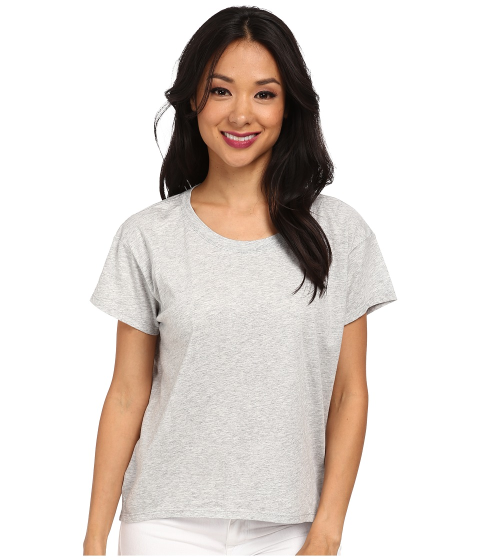 Alternative - Modal Crew Neck T-Shirt (Heather Grey) Women's T Shirt