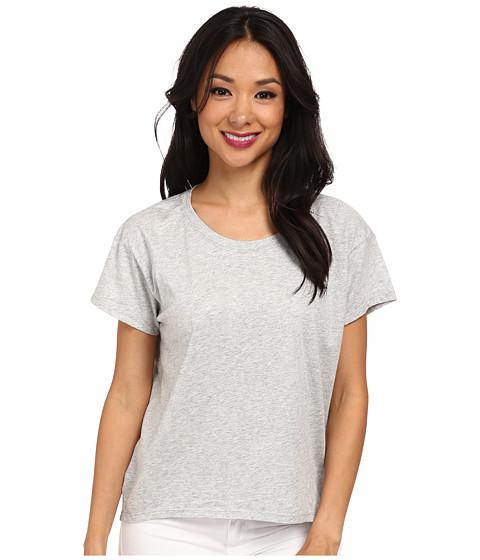 Alternative - Modal Crew Neck T-Shirt (Heather Grey) Women