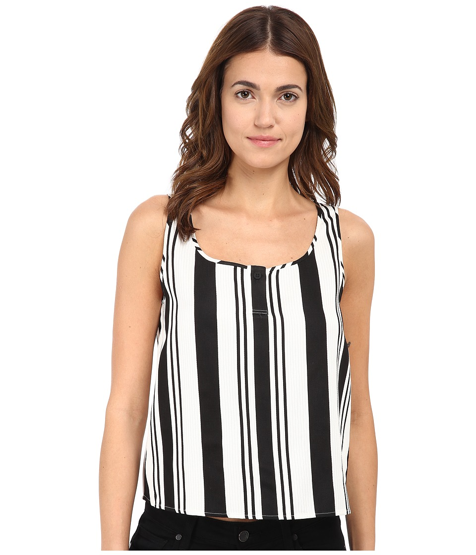 Theory - Zelia Top (Black/White) Women's Clothing