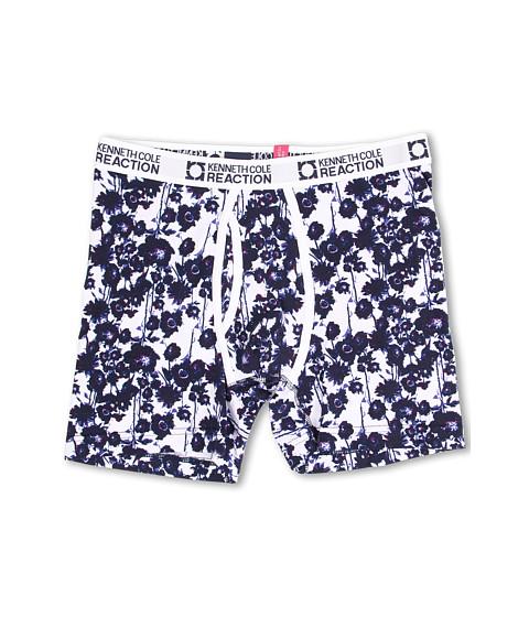 Kenneth Cole Reaction - Boxer Brief (Purple Floral) Men's Underwear
