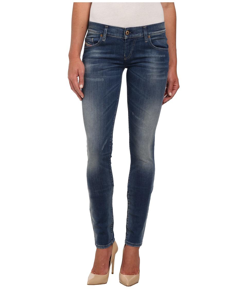 Diesel - Grupee Skinny 664S (Denim) Women's Jeans