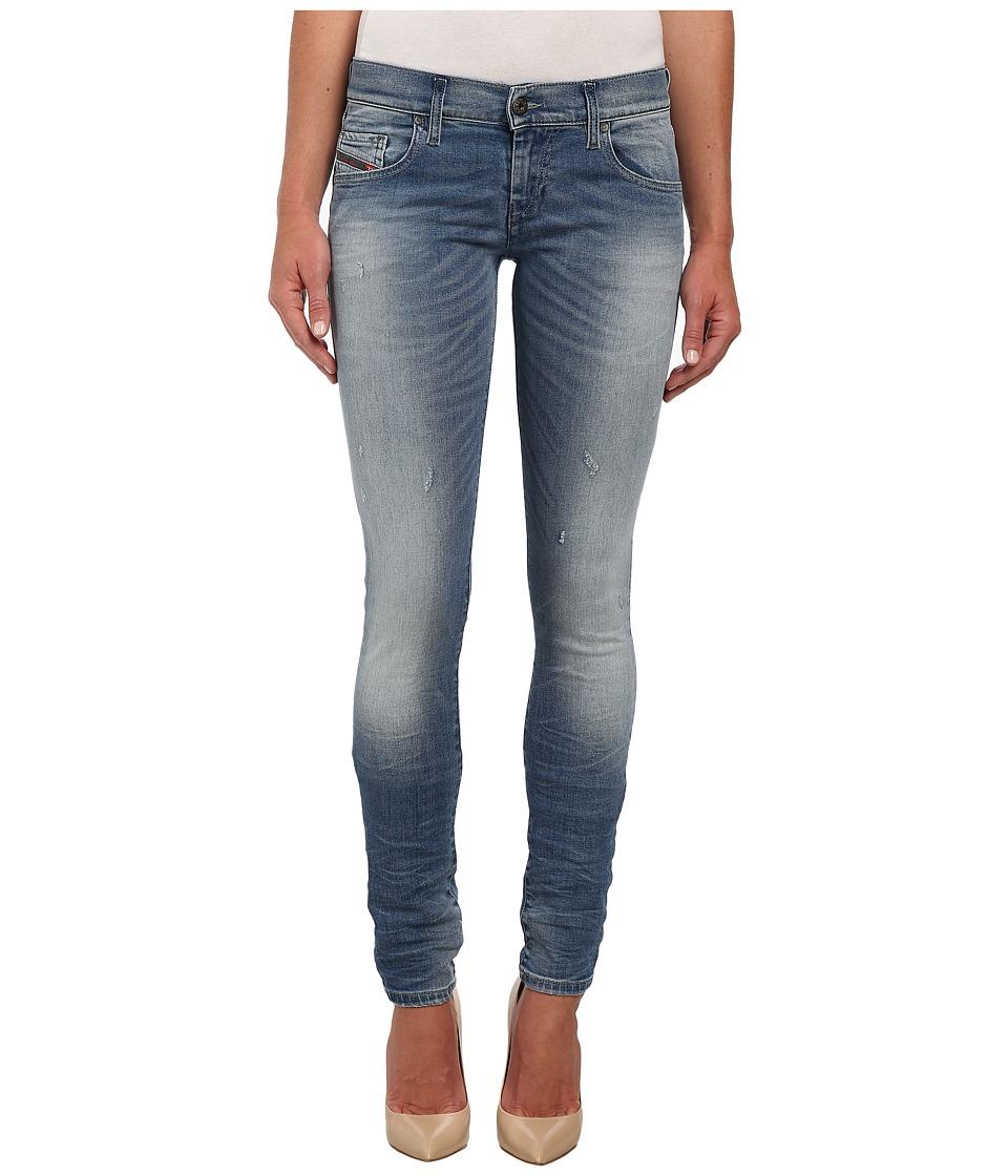 Diesel - Grupee Skinny 839Y (Denim) Women's Jeans