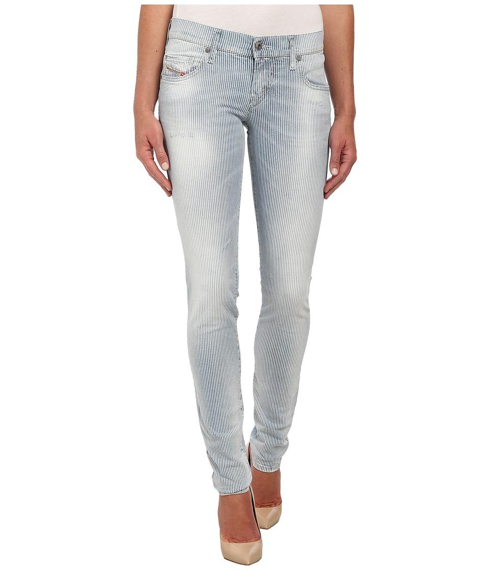Diesel - Grupee Skinny 664H (Denim) Women's Jeans