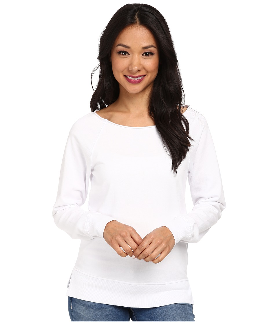 Alternative - Eco Micro Fleece Pullover (White) Women's Fleece