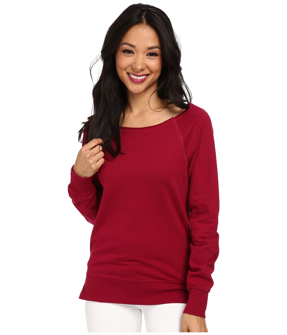 Alternative - Eco Micro Fleece Pullover (Beet) Women's Fleece