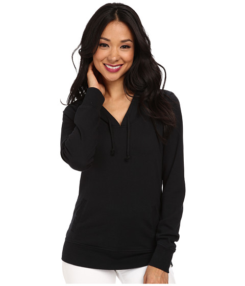 Alternative - Eco Micro Fleece Pullover Hoodie (Black) Women's Sweatshirt