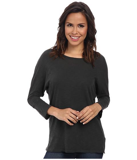 Alternative - Slub Dolman Top (Coal) Women's Clothing