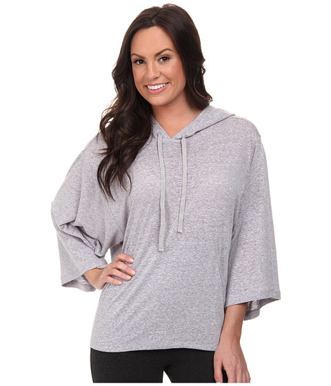 Josie - Linen Instincts Hooded Top (Heather Ash) Women's Pajama