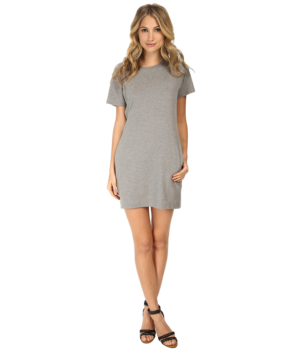 Theory - Zissia Dress (Heather Grey) Women
