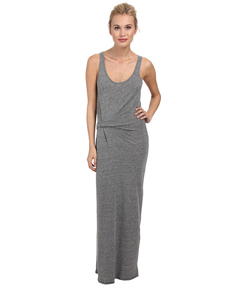 Alternative - Eco Jersey Drape Maxi (Eco Grey) Women's Dress