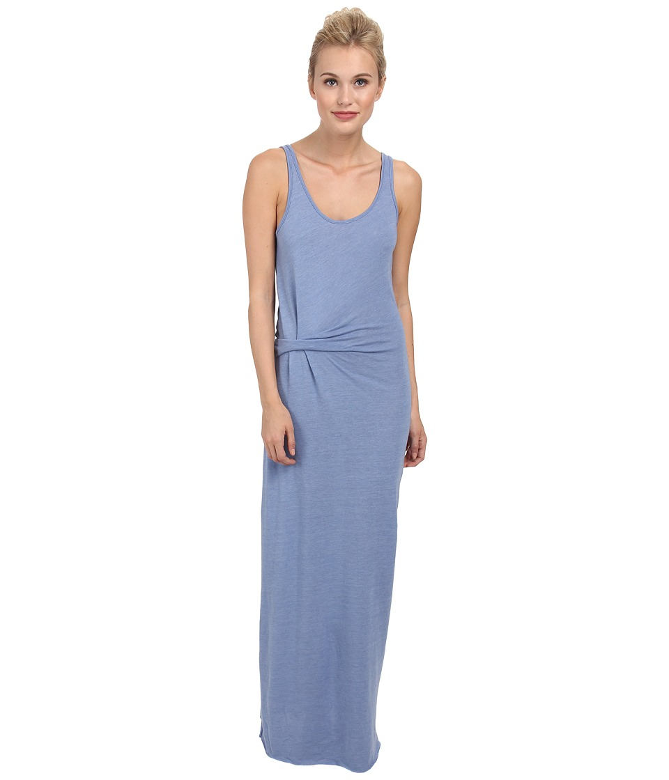 Alternative - Eco Jersey Drape Maxi (Eco True Dusk Blue) Women's Dress