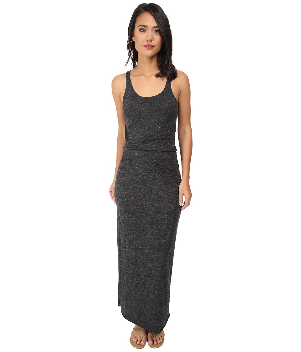 Alternative - Eco Jersey Drape Maxi (Eco Black) Women's Dress
