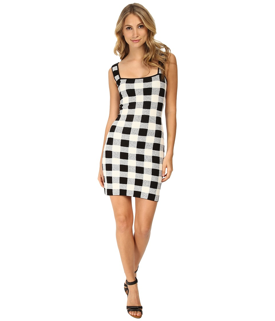 Theory Sharneel Dress (Black/White) Women