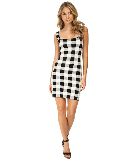 Theory - Sharneel Dress (Black/White) Women