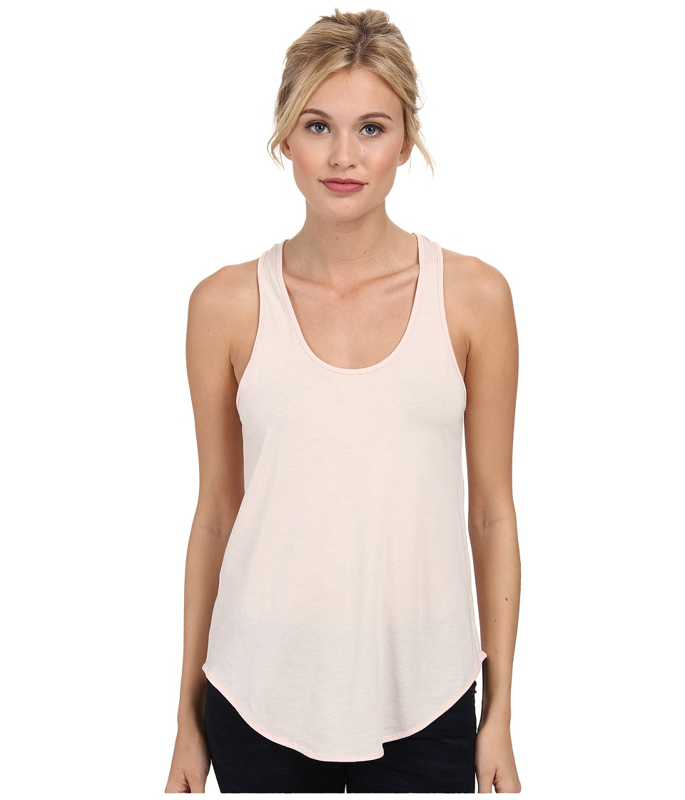 Alternative - Perfect Shirttail Tank Top (Vintage Blush Pink) Women's Sleeveless