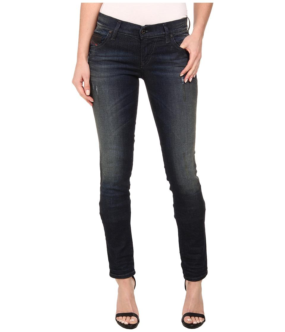 Diesel - Grupee Skinny 837R (Denim) Women's Jeans
