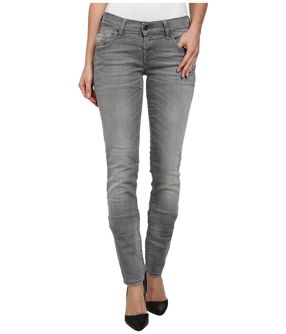 Diesel - Grupee Skinny 839N (Grey) Women's Jeans