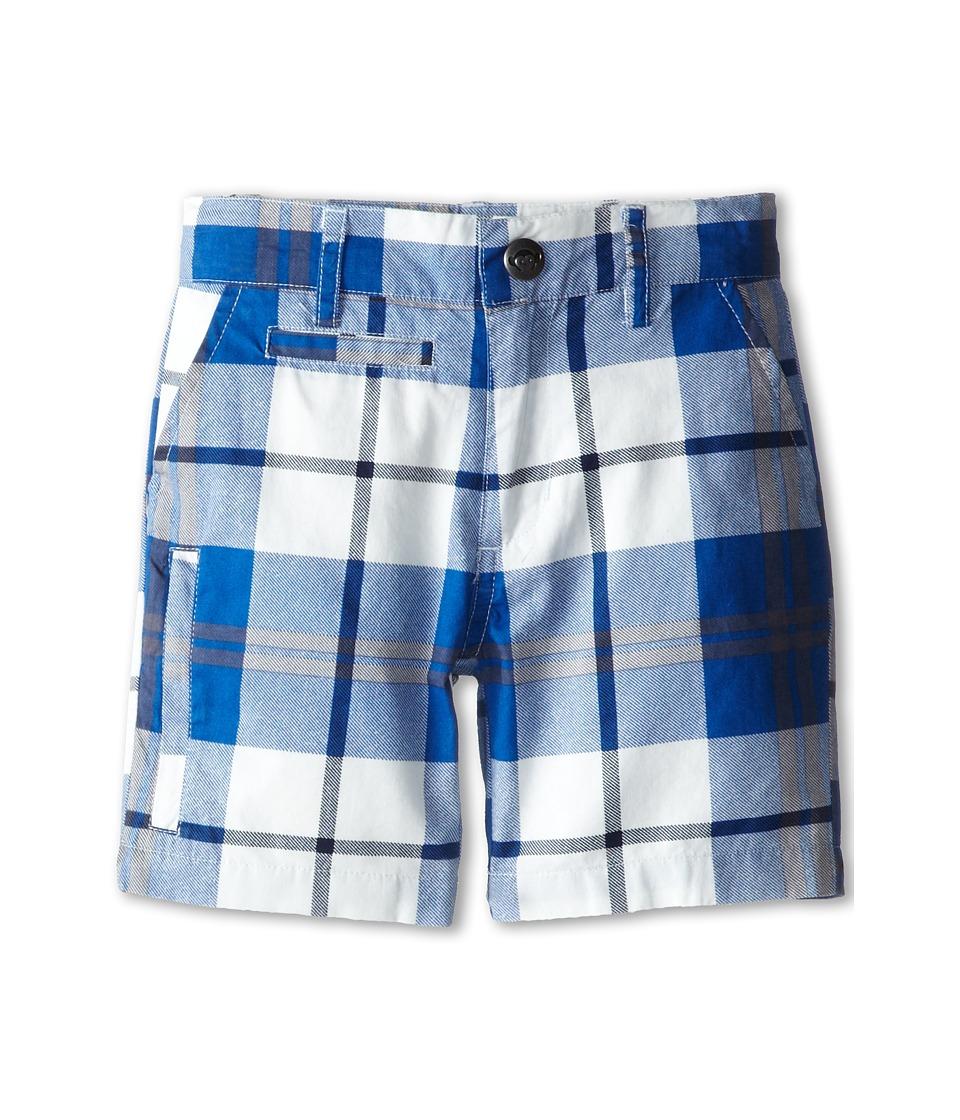 Appaman Kids - Twill Board Shorts (Toddler/Little Kids/Big Kids) (Blue Plaid) Boy's Swimwear