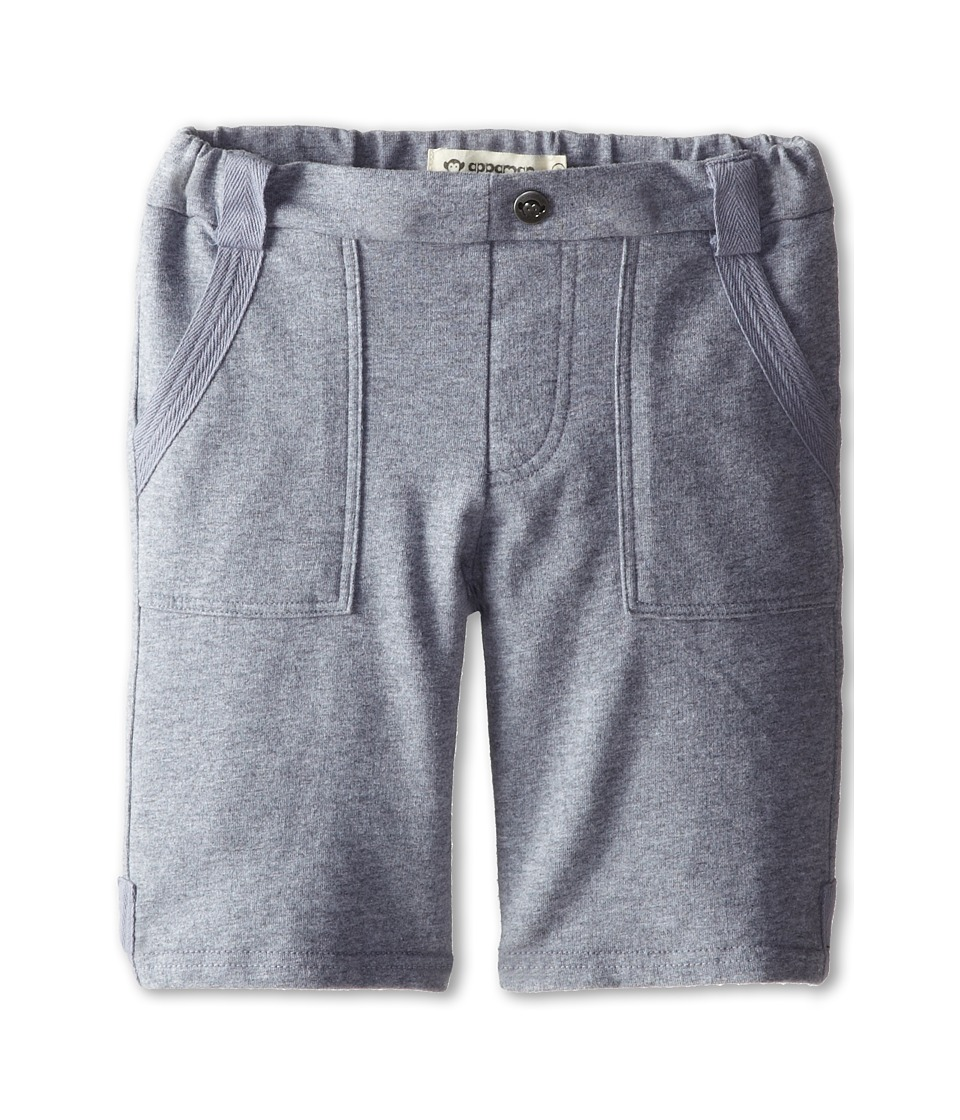 Appaman Kids - Super Soft French Terry Stanton Shorts (Toddler/Little Kids/Big Kids) (Heather) Boy