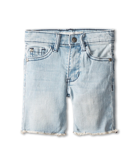 Appaman Kids - Raw Edge Denim Shorts (Toddler/Little Kids/Big Kids) (Light Wash) Boy