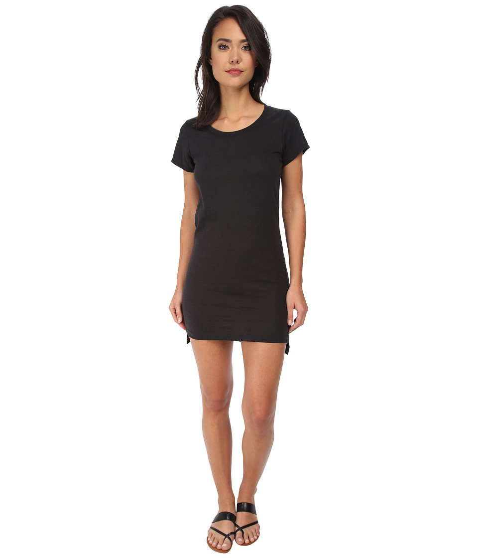 Alternative - Eco Jersey T-Shirt Dress (Eco True Black) Women's Dress