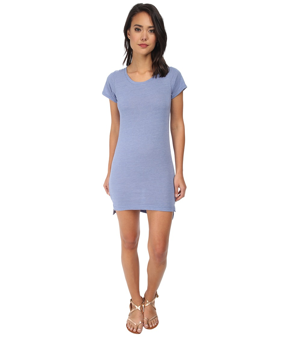 Alternative - Eco Jersey T-Shirt Dress (Eco True Dusk Blue) Women's Dress