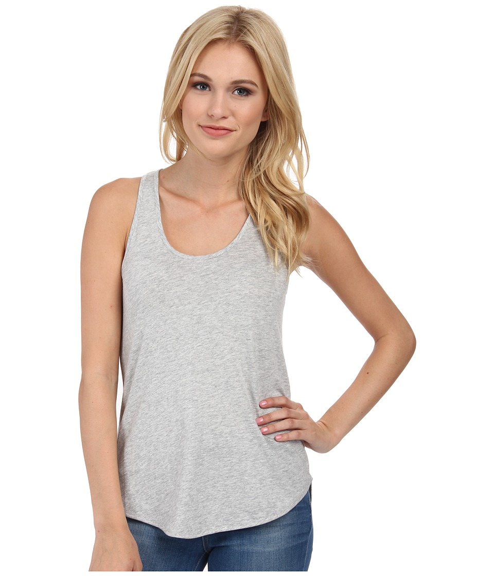 Alternative - Modal Shirttail Tank Top (Heather Grey) Women