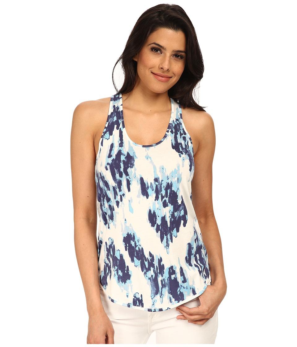 Alternative - Modal Shirttail Tank Top (Cambridge Ink Blot) Women's Sleeveless