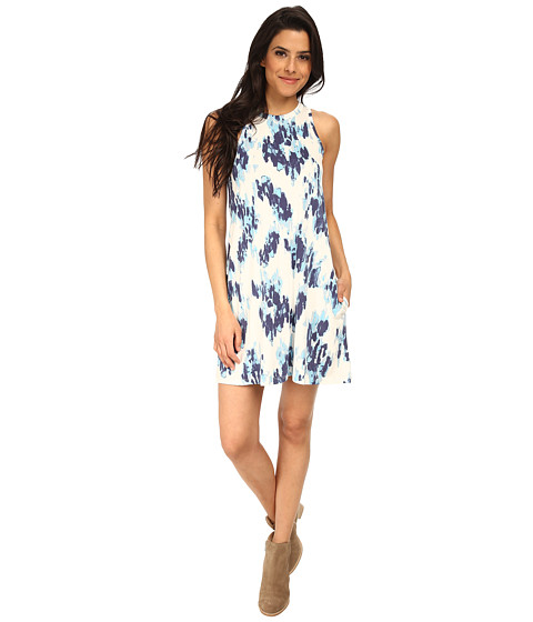 Alternative - Modal Halter Dress (Cambridge Ink Blot) Women