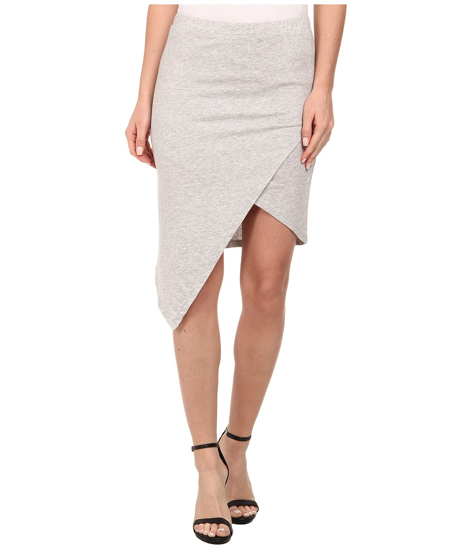 Alternative Modal Asymmetrical Skirt (Heather Grey) Women