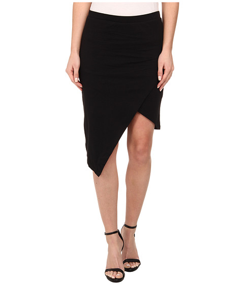 Alternative - Modal Asymmetrical Skirt (Black) Women's Skirt