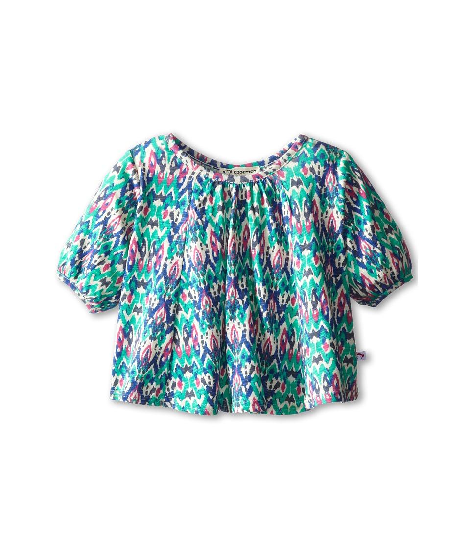 Appaman Kids - Swing Top (Toddler/Little Kids/Big Kids) (Ikat) Girl's Swimwear