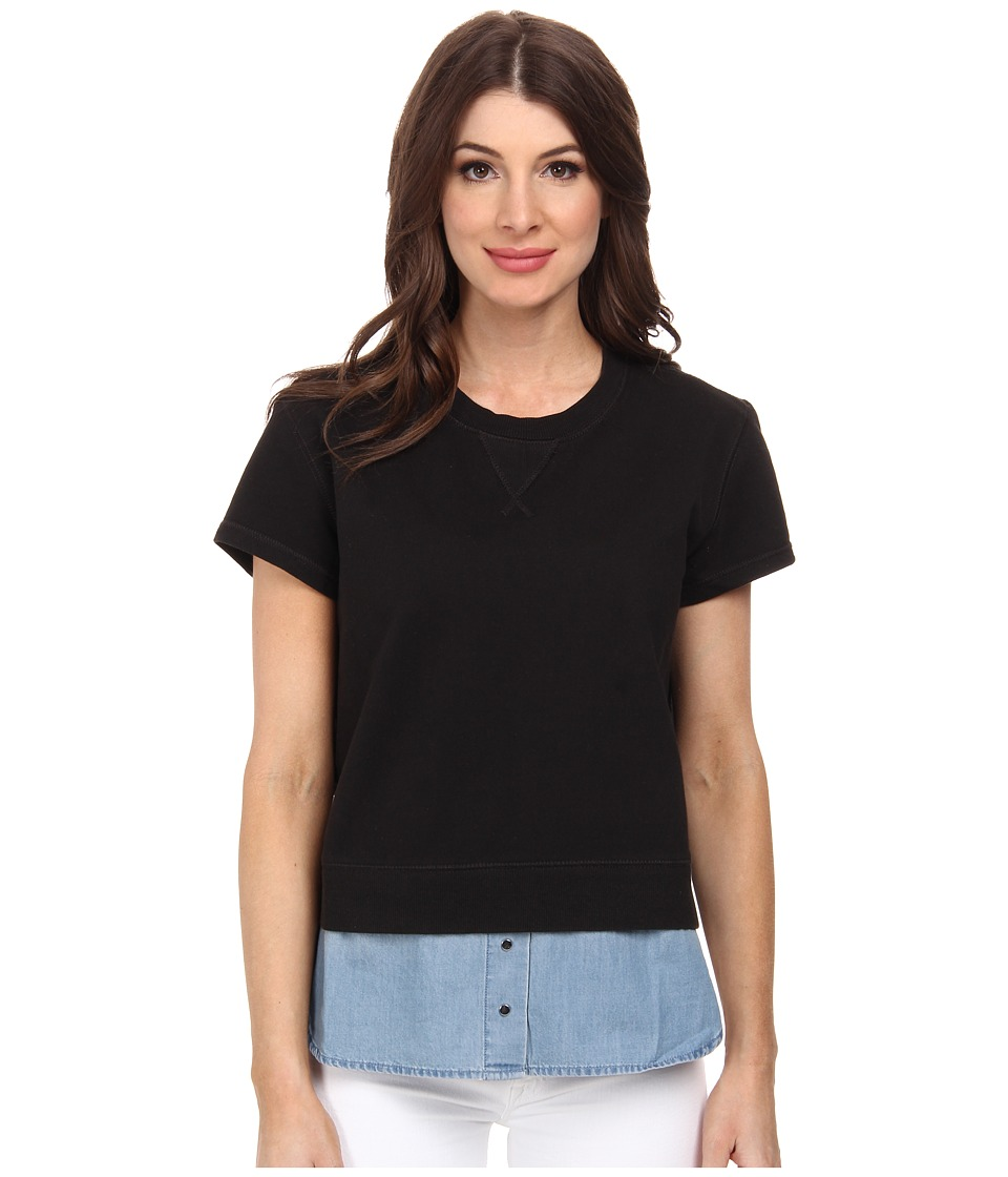 Diesel - F-Skye Sweatshirt (Black) Women's Sweatshirt