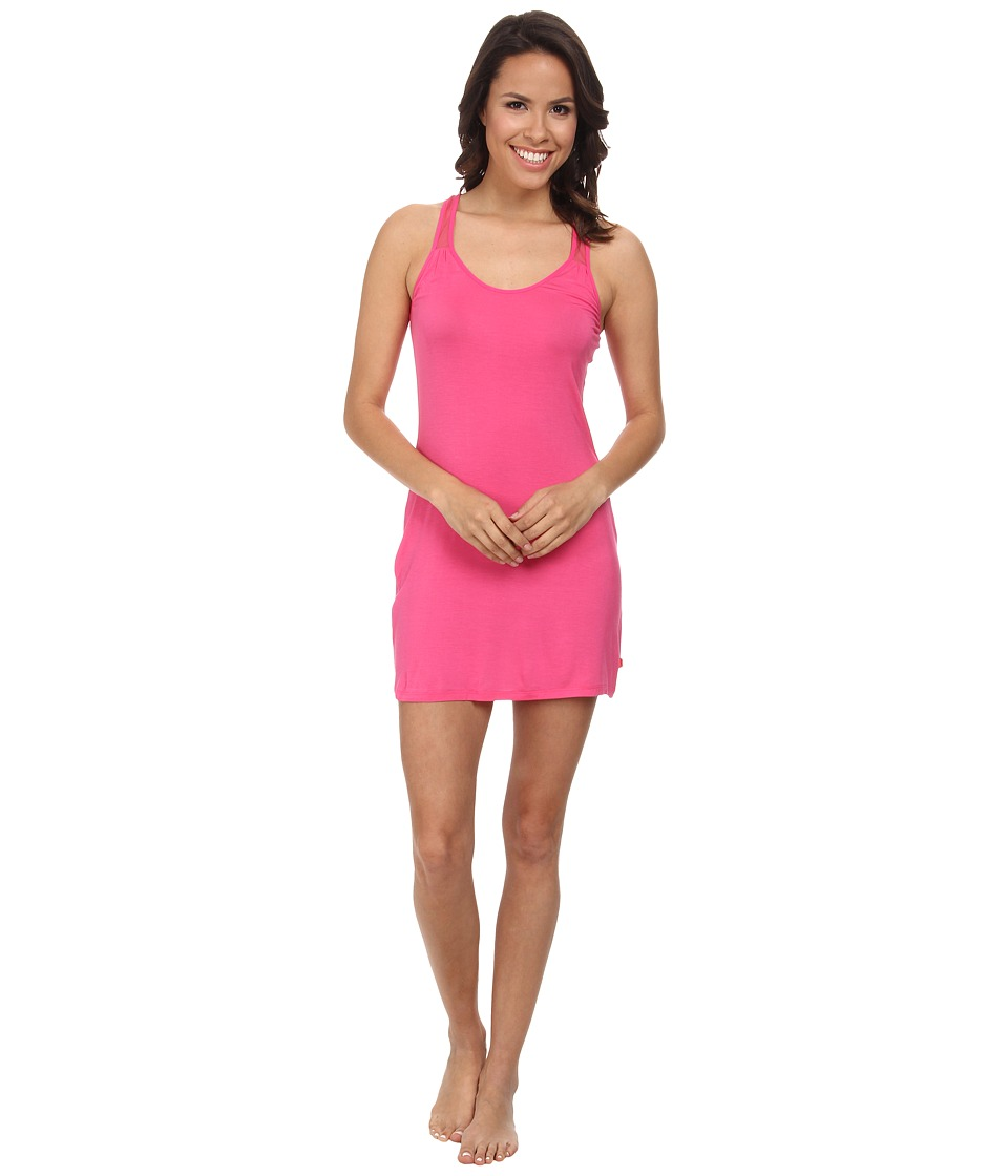 Josie - Downtown Lounge Chemise (Cosmo Pink) Women