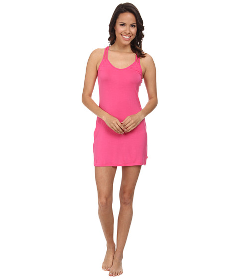 Josie - Downtown Lounge Chemise (Cosmo Pink) Women's Pajama
