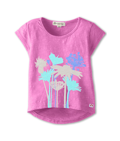 Appaman Kids - Circle Tee with Flower (Toddler/Little Kids/Big Kids) (Confetti) Girl