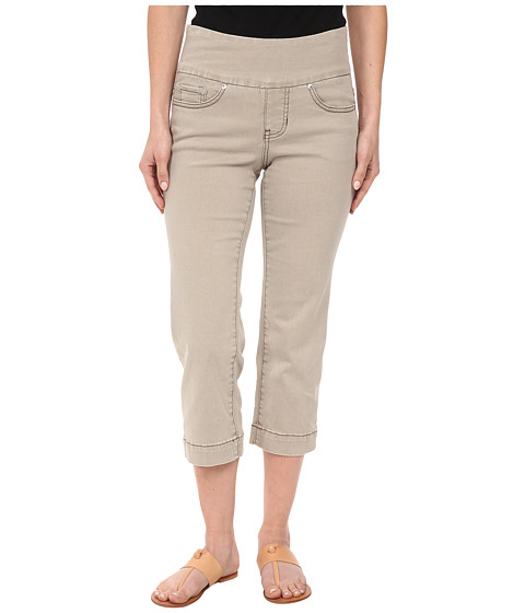 Jag Jeans Petite - Petite Caley Pull-On Crop Classic Fit in Stucco (Stucco) Women's Casual Pants