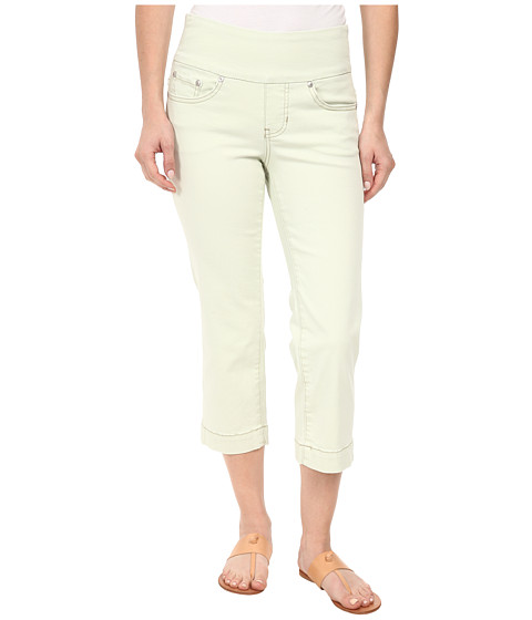 Jag Jeans Petite - Petite Caley Pull-On Crop Classic Fit in Lime Sherbet (Lime Sherbet) Women