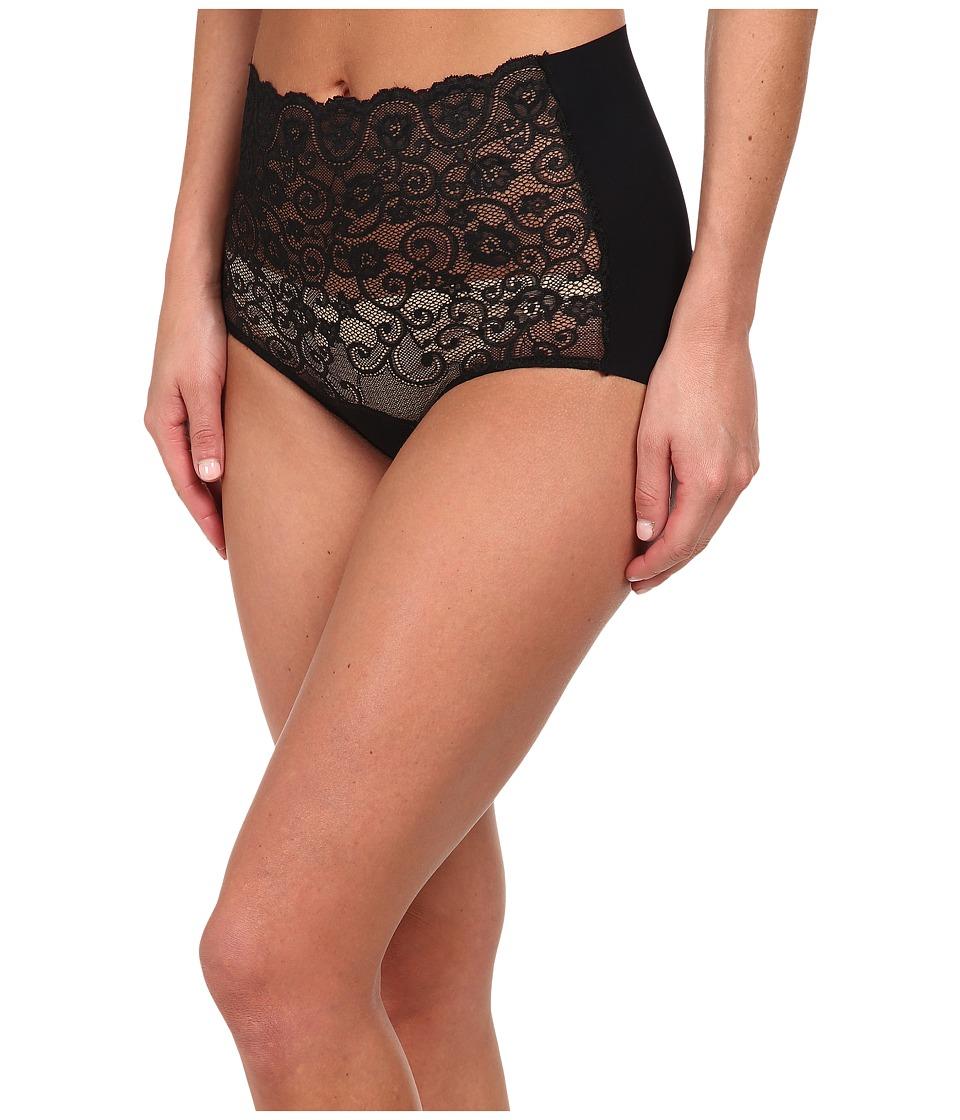 Commando - Double Take High Rise Bikini BK06 (Black) Women's Underwear