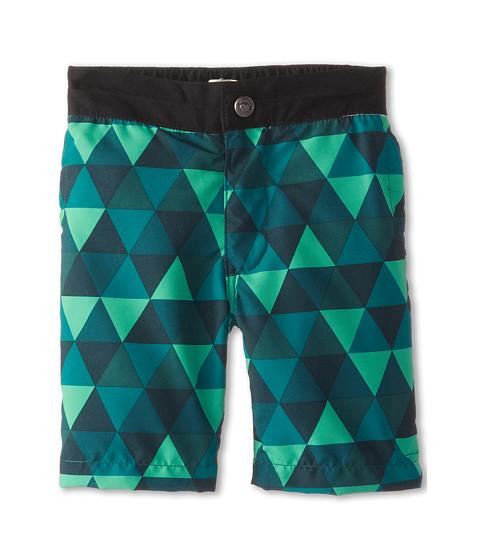 Appaman Kids - Riis Swim Trunks with Triangles (Toddler/Little Kids/Big Kids) (Clover) Boy's Swimwear