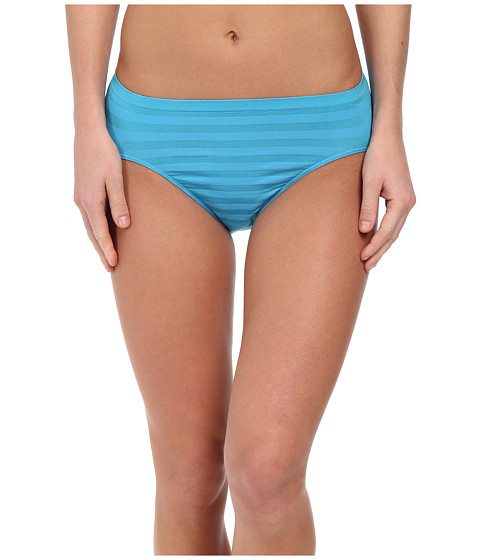 Jockey - Comfies Matte Shine Hi Cut (Turquoise Pool) Women