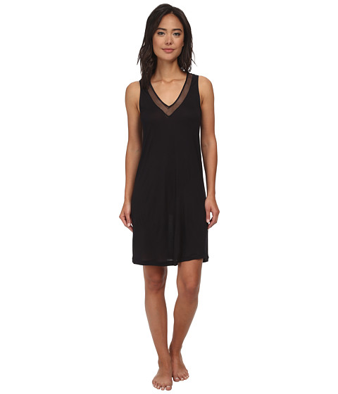 Hanro - Umbria Tank Gown (Black) Women